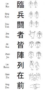 Kanji Esoteric seals